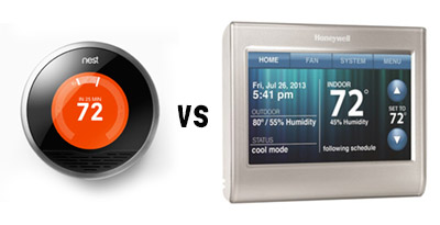 Nest Smart Thermostat vs Honeywell