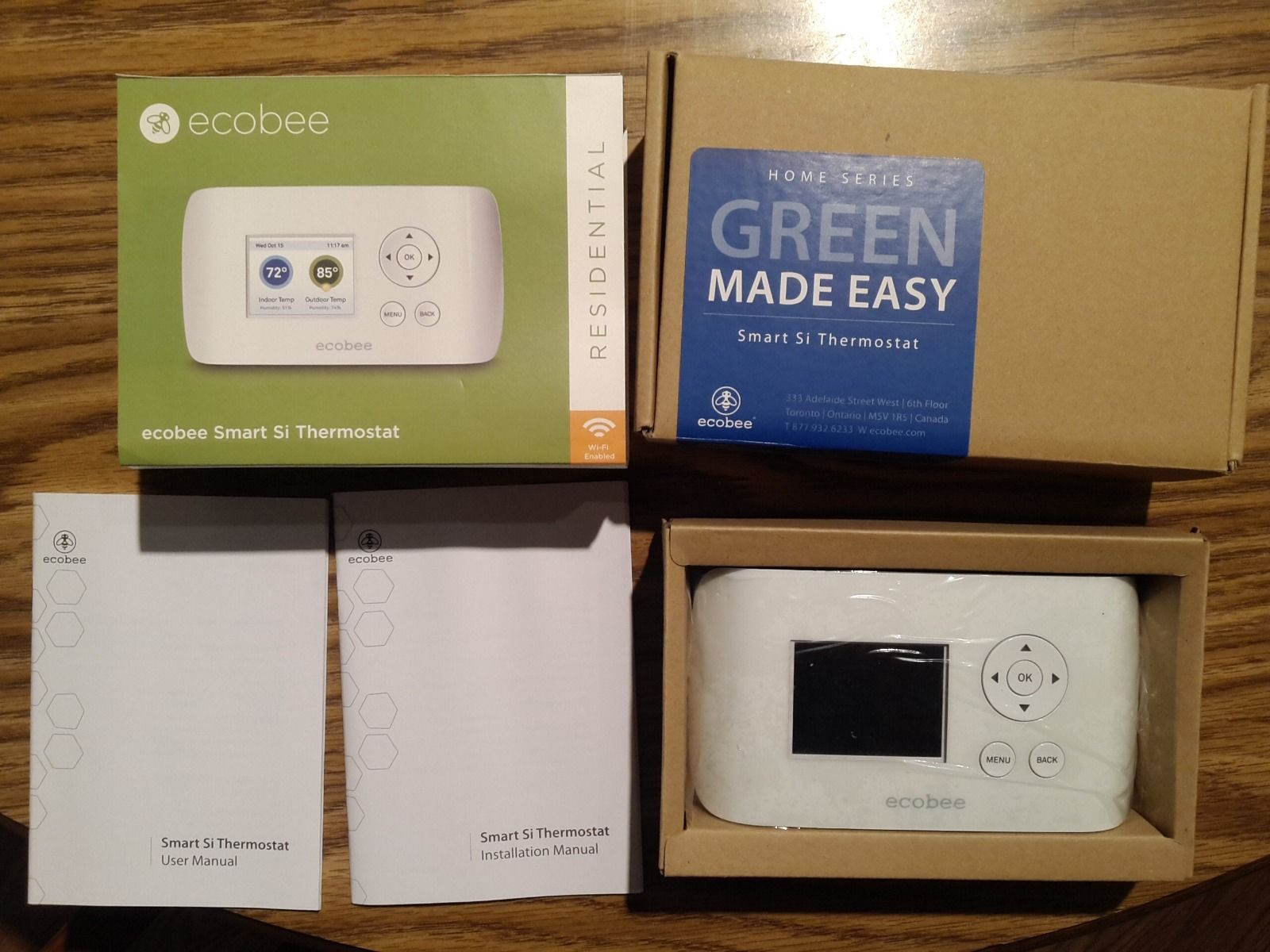 Ecobee Thermostat Without C Wire Data Schema Wiring Diagram Review Smart Si No Ecobee3 Lite